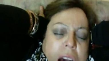 Moaning hot sex with hubby's friend