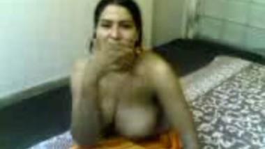 Topless bargirl on mms
