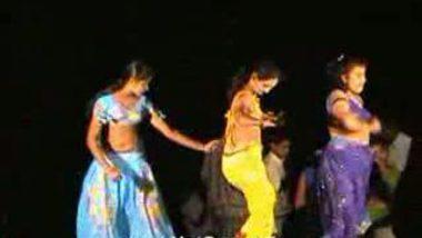 Telugu Hot Girls Night stage dance 11