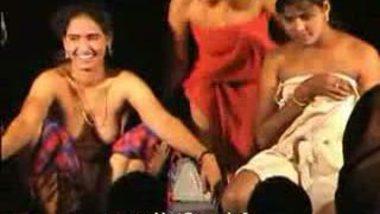 Telugu Hot Girls Night Stage Dance 32