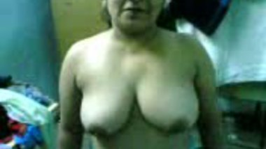 Auntie Shows Her Tits
