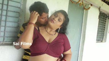 South Indian Chubby Aunty in Telugu Short film