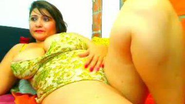 Desi porn mms of NRI BBW aunty masturbation on cam