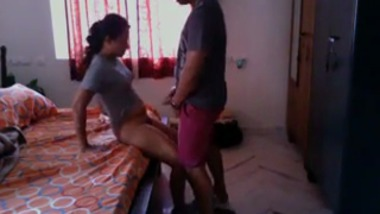 Cheating Punjabi wife caught fucking on hidden cam