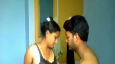 College girl Sanusha's perfect body exposed mms