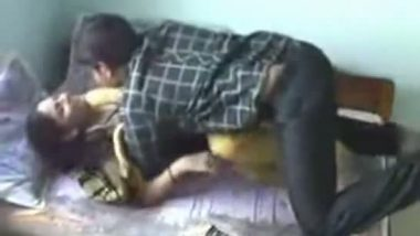 Gujrati college girl getting hard fucked by cousin hidden cam MMS