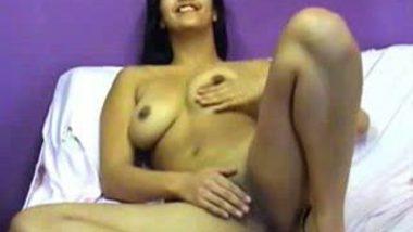 Live cam Jasmine's naked exposure masturbation