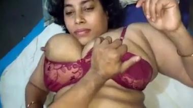Jodhpur big boobs bhabhi satisfied by devar