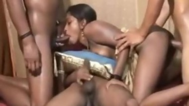 Indian teen ganbang facial cumshots. More at - cam.sexdo.in
