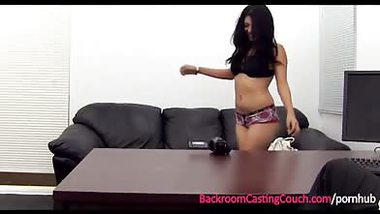 Married Indian teen Assfucked on Casting Couch