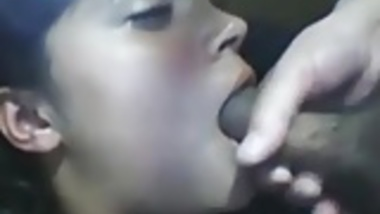 Indian girl gets a facial