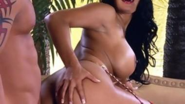 Naked com ebony