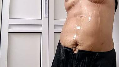 BBW aunty shower sex videos