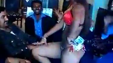 Desi girl hot bikini dance in the office party