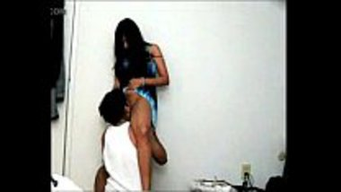 Hot desi chick having sex in the standing position