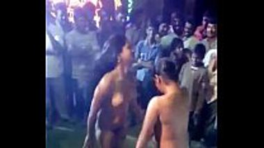 Nude Tamil girls dancing on a function