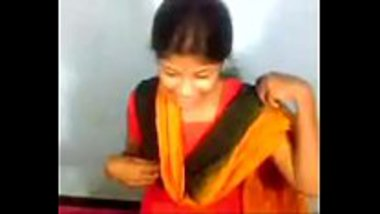 Young desi maid enjoyed by her boss