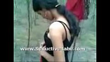 Tamil girl stripping in the middle of the forest