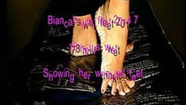Bianca's wet feet 2014 part 5