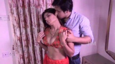 Savita bhabhi seducing her guest at home