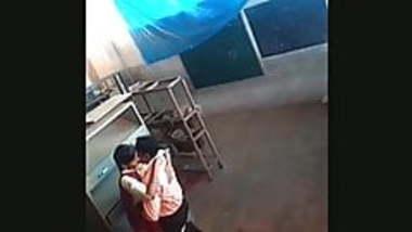 School girl fucked by her teacher in store room