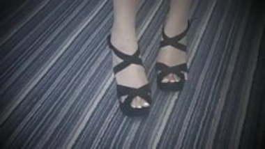 Mistress Nia - Indian femdom - Open Toe High Heels