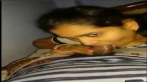 Telugu Aunty Feeling Shy While Sucking Dick Of Neighbor