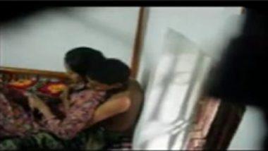Hidden Cam Video Showing Indian Lovers' Secret Romance