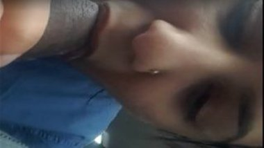 Lovely indian wife blowjob video inside call taxi