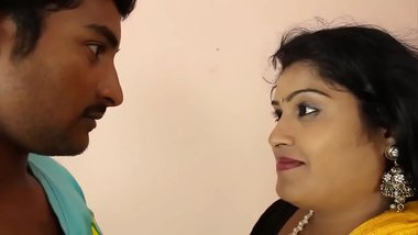 Hot indian masala aunty romance with step son