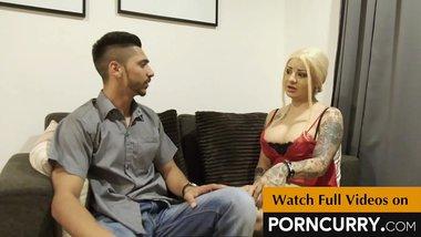 PORNCURRY Aysha Bhabhi cheats her Boyfriend Vijay Mehta by fucking her Indian devar Randeep Singh